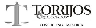 Logotipo Torrijos y asociados consulting