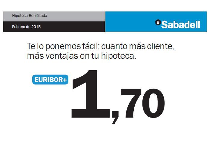 Los bancos comienzan a contestar banco sabadell for Clausula suelo sabadell