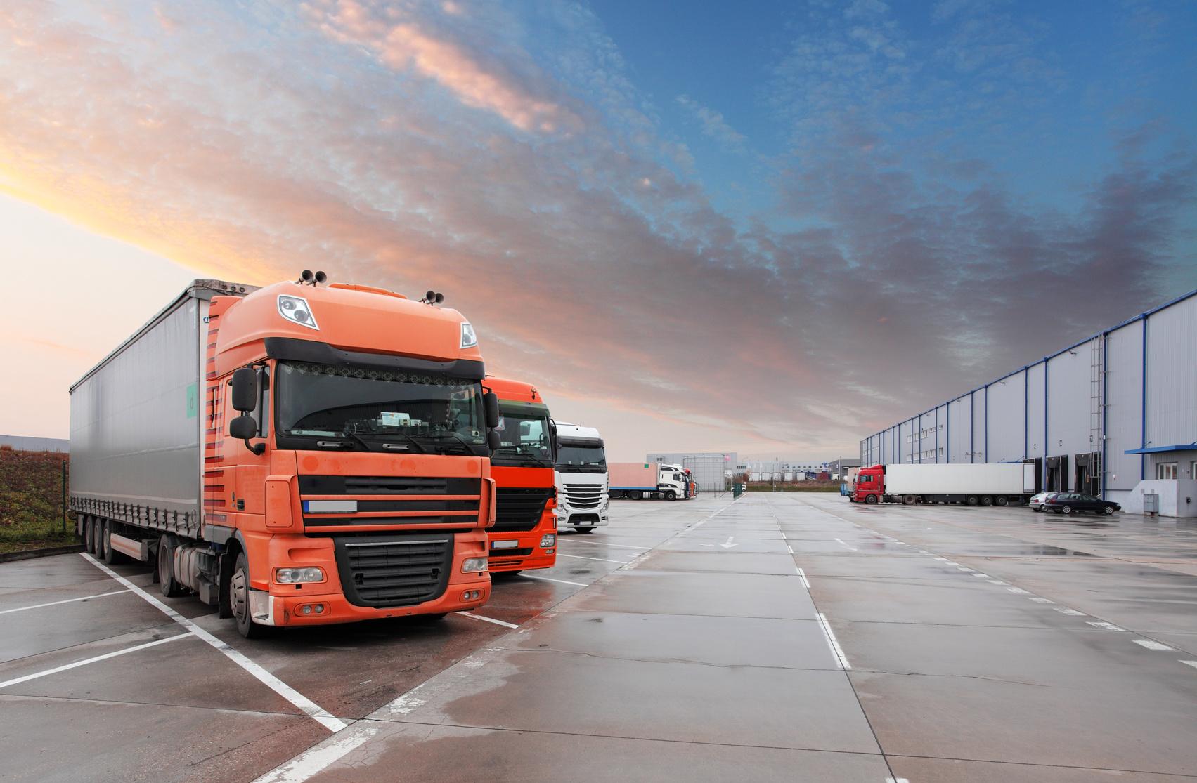 cartel camiones